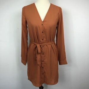 Forever 21 Short- dress color Amber ( New)
